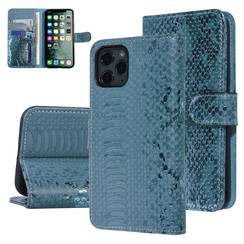 UNIQ Accessory Apple iPhone 11 Pro Green Snakeskin Book type case