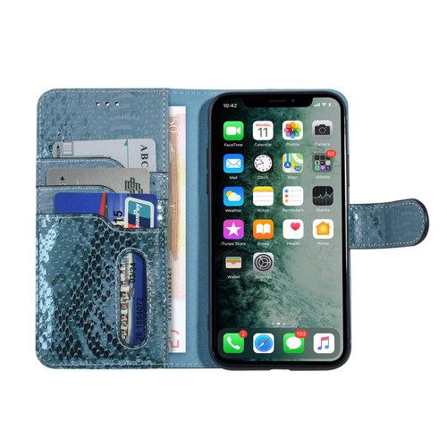 UNIQ Accessory UNIQ Accessory Apple iPhone 11 Pro Green Snakeskin Book type case