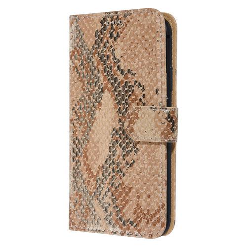 UNIQ Accessory UNIQ Accessory iPhone 11 Or Peau de serpent Book type housse