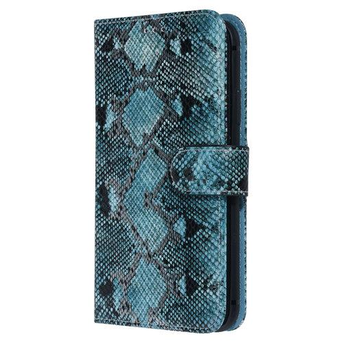 UNIQ Accessory UNIQ Accessory iPhone 11 Noir et Vert Peau de serpent Book type housse