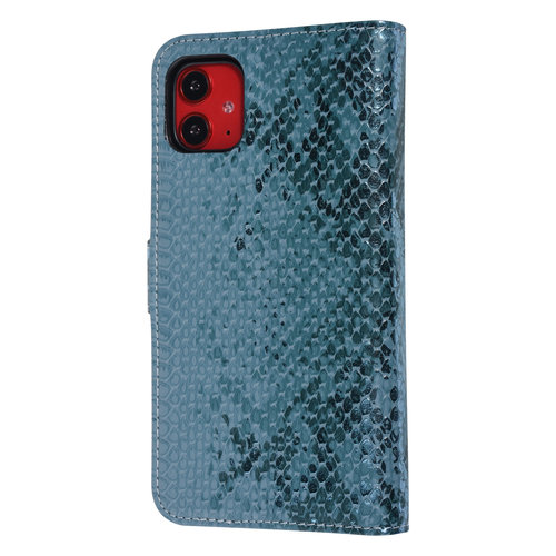 UNIQ Accessory UNIQ Accessory Apple iPhone 11 Green Snakeskin Book type case
