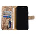 UNIQ Accessory UNIQ Accessory Apple iPhone 11 Pro Max Gold Snakeskin Book type case