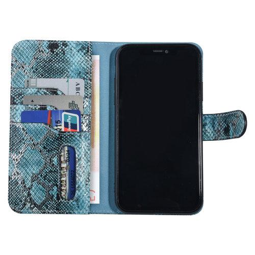 UNIQ Accessory UNIQ Accessory Apple iPhone 11 Pro Max Black and Green Snakeskin Book type case