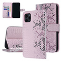 UNIQ Accessory UNIQ Accessory Apple iPhone 11 Pro Max Pink Snakeskin Book type case