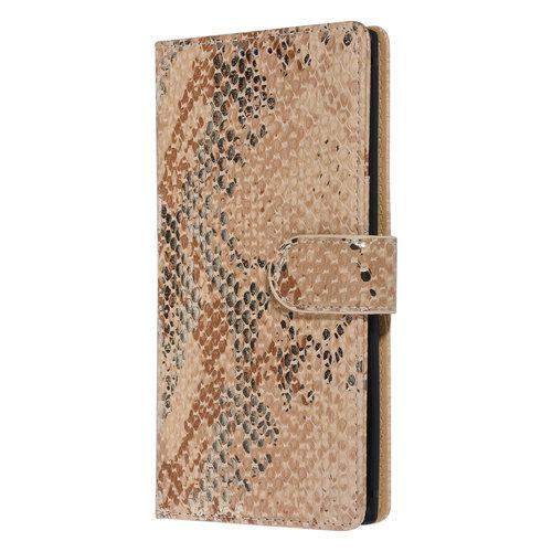 UNIQ Accessory UNIQ Accessory Galaxy Note 10 Goud Slangenleer Booktype hoesje