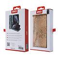 UNIQ Accessory UNIQ Accessory Galaxy Note 10 Or Peau de serpent Book type housse