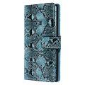 UNIQ Accessory UNIQ Accessory Galaxy Note 10 Noir et Vert Peau de serpent Book type housse