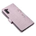 UNIQ Accessory UNIQ Accessory Samsung Galaxy Note 10 Pink Snakeskin Book type case