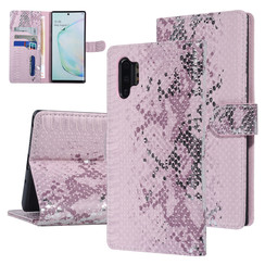 UNIQ Accessory Samsung Galaxy Note 10 Plus Pink Snakeskin Book type case