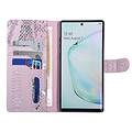 UNIQ Accessory UNIQ Accessory Galaxy Note 10 Plus Rose Peau de serpent Book type housse