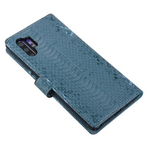 UNIQ Accessory UNIQ Accessory Galaxy Note 10 Plus Vert Peau de serpent Book type housse