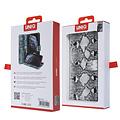 UNIQ Accessory UNIQ Accessory Galaxy S10 Noir et Blanc Peau de serpent Book type housse