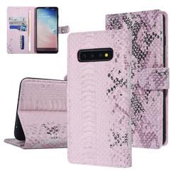 UNIQ Accessory Galaxy S10 Pink Schlangenhaut Book-Case hul