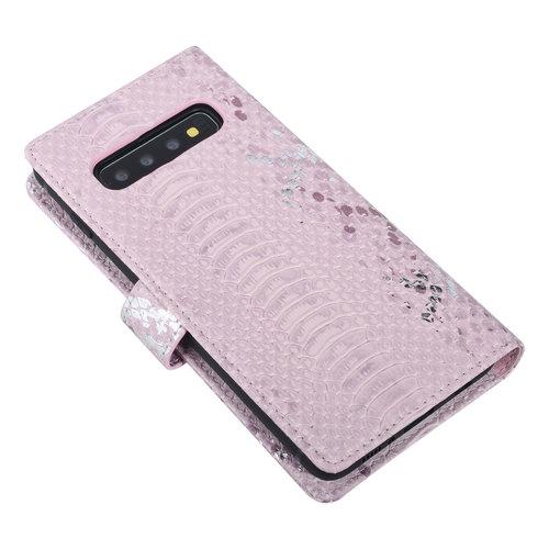 UNIQ Accessory UNIQ Accessory Samsung Galaxy S10 Pink Snakeskin Book type case