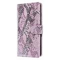 UNIQ Accessory UNIQ Accessory Galaxy S10 Roze Slangenleer Booktype hoesje