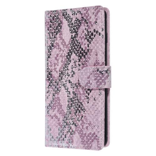 UNIQ Accessory UNIQ Accessory Galaxy S10 Rose Peau de serpent Book type housse