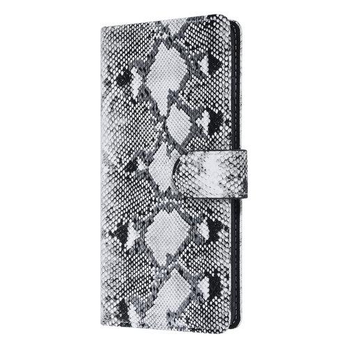 UNIQ Accessory UNIQ Accessory Samsung Galaxy S10 Plus Black and White Snakeskin Book type case