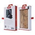 UNIQ Accessory UNIQ Accessory Galaxy S10 Plus Goud Slangenleer Booktype hoesje