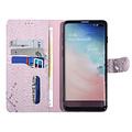 UNIQ Accessory UNIQ Accessory Galaxy S10 Plus Roze Slangenleer Booktype hoesje