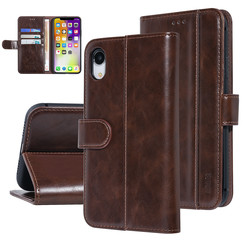 UNIQ Accessory Apple iPhone XR Brown Soft Touch Book type case