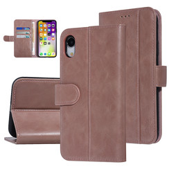 UNIQ Accessory Apple iPhone XR Pink Soft Touch Book type case