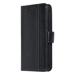 UNIQ Accessory iPhone 11 Pro Zwart Zachte huid Booktype hoesje