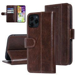 UNIQ Accessory iPhone 11 Pro Marron Doux au toucher Book type housse
