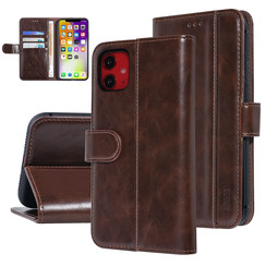 UNIQ Accessory Apple iPhone 11 Brown Soft Touch Book type case