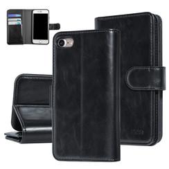 UNIQ Accessory iPhone 7-8 Noir Doux au toucher Book type housse