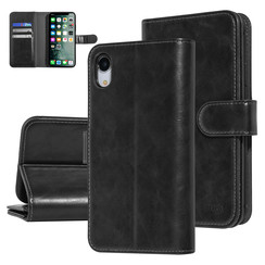 UNIQ Accessory Apple iPhone XR Black Soft Touch Book type case