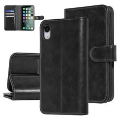 UNIQ Accessory iPhone XR Noir Doux au toucher Book type housse