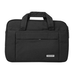 Universeel Universal 15 inch Black PU Laptop bag
