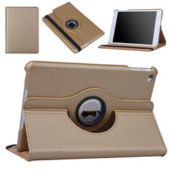 Apple Ipad Mini 4 Gold PU Book case Tablet