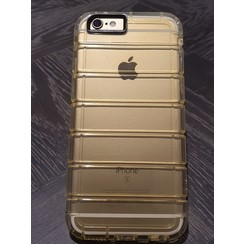 Apple iPhone 6/6S - Silicone case - Gold (8719273222799)