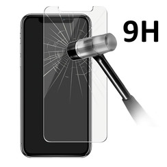 Tempered glass voor iPhone X (8719273251942)-Transparant
