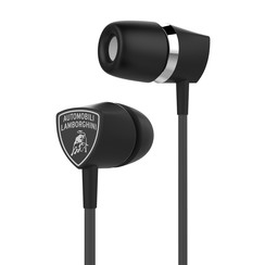 Earplug Universeel Stereo Black for Stereo Music and Calls