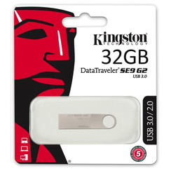 Kingston 32 GB USB Stick - DataTraveler SE9 G2 - USB 3.0