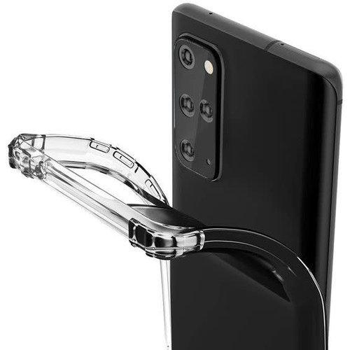 Andere merken Galaxy S20 Ultra Transparant Hardcase Backcover hoesje