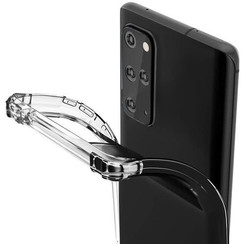 Samsung Galaxy S20 Transparent Back cover case - Anti-Shock