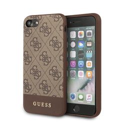 Guess Apple iPhone 7-8; iPhone SE2 Brown Back cover case - GUHCI8G4GLBR