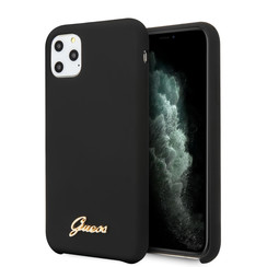 Apple iPhone 11 Pro Zwart Backcover hoesje - GUHCN58LSLMGBK