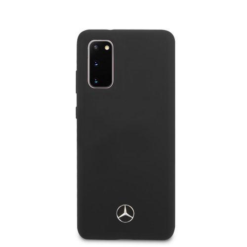 Mercedes-Benz Mercedes-Benz Samsung Galaxy S20 Black Back cover case - MEHCS62SILSB