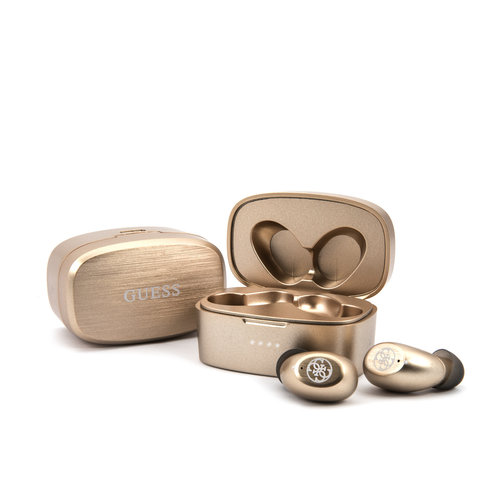 Guess GUESS TWS bluetooth earphones with charging box - Gold
