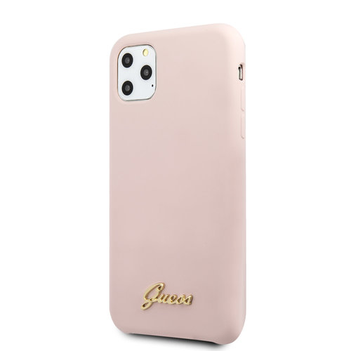 Guess Guess Apple iPhone 11 Pro Pink Back cover case - GUHCN58LSLMGLP