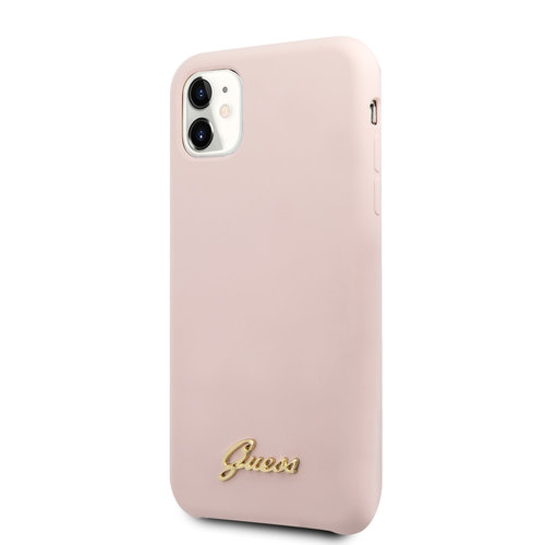 Guess Guess Apple iPhone 11 Pink Back cover case - GUHCN61LSLMGLP