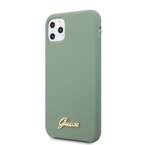 Guess Guess iPhone 11 Pro Max Kaki Back cover coque - GUHCN65LSLMGKA