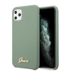 Guess Apple iPhone 11 Pro Max Kaki Back cover case - GUHCN65LSLMGKA
