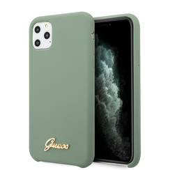 Guess iPhone 11 Pro Max Kaki Back cover coque - GUHCN65LSLMGKA
