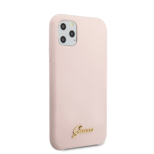 Guess Guess iPhone 11 Pro Max Rose Back cover coque - GUHCN65LSLMGLP