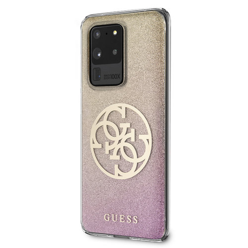 Guess Guess Galaxy S20 Ultra Rose Back cover coque - GUHCS69PCUGLPGG